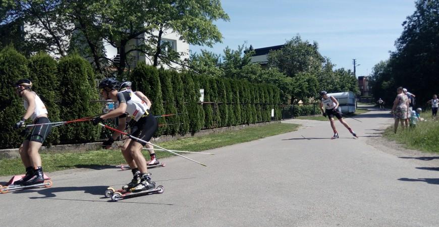Riedslidžių taurės I etapas Ignalinoje, 2017-05-27