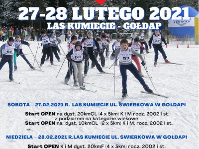XXX Bieg Jacwingow - 2021.02.27-28 slidinėjimo maratonas šalia Lietuvos