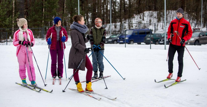 Nemokamų slidinėjimo treniruočių ciklas baigtas. Kas toliau?