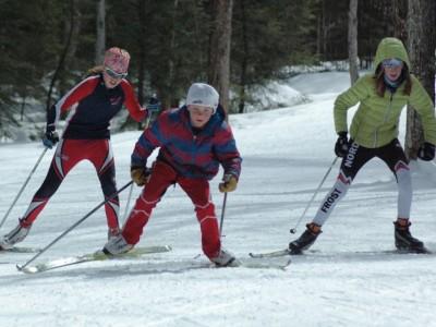 Kur galima slidinėti?