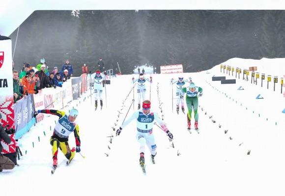 Atrankos į Pjongčango Olimpiadą finišo tiesioji