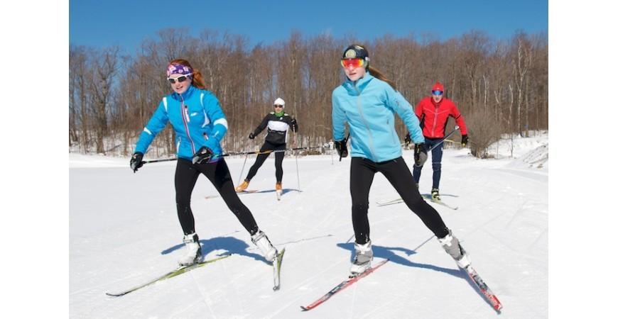Nemokamos lygumų slidinėjimo treniruotės Vilniuje kiekvieną pirmadienį