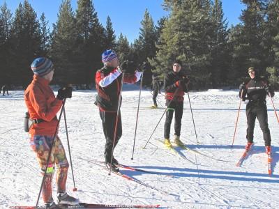 Individuali lygumų slidinėjimo treniruotė Vilniuje