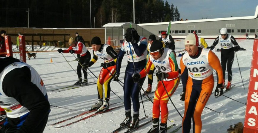 Neįprastos slidinėjimo varžybos Ignalinoje, 2019.02.15-16