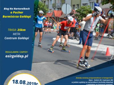 Riedslidžių varžybos Goldapėje (Lenkija), 2019.08.18